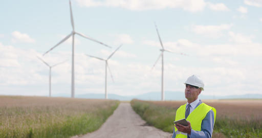 Windmills Inspection, Eco Energy, Renewal Energy Footage