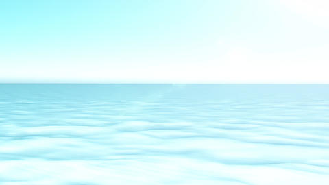 4k Artic Polar Landscape Background Animation