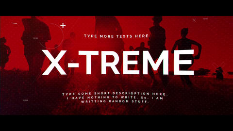 Xtreme After Effects Template