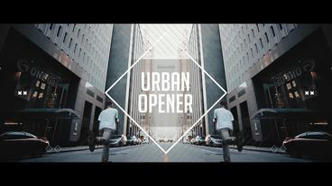Urban Opener Premiere Pro Template
