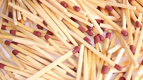 Matches match sticks fire concept Live Action