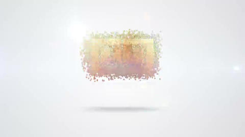 Quick Clean Particle Logo After Effects Template