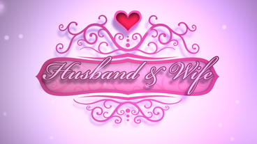 Husband & Wife - Wedding Video/Invitation LogoStinger After Effects Projekt