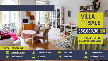 Real Estate After Effects Template