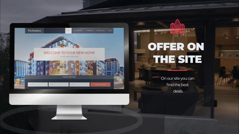 Real Estate Agency After Effects Template