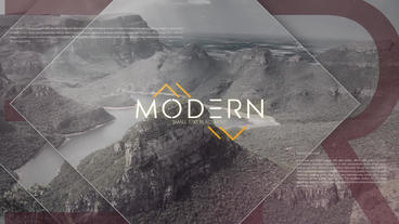 Modern Photo Opener Slideshow After Effects Template