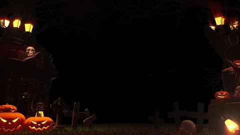 Skull Stone Flame 4K 애니메이션