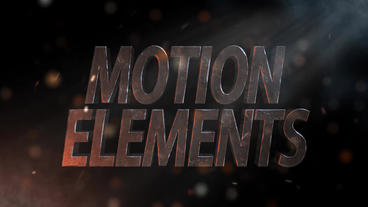 Neo 3D Stony Title After Effects Template
