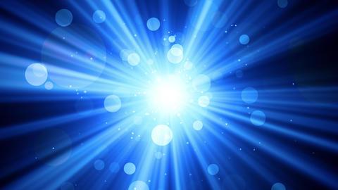 Worship Light Rays Blue Animation