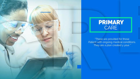 Medical Opener-Medical Promo After Effects Template