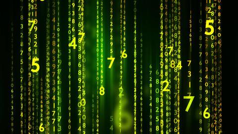 Technology Matrix Data Animation