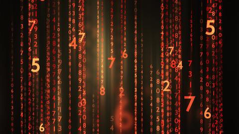 Matrix Trailing Data Flow GIF