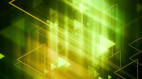 Subtle Light Triangular Shapes Animation
