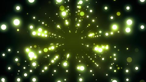 Green Dance Lights Tunnel Animation