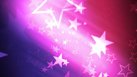 US Patriotic Stars and Colors Animation