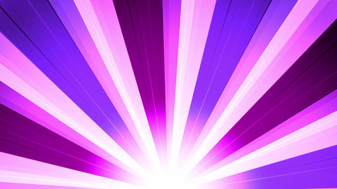 Purple Star Burst Rays Animation
