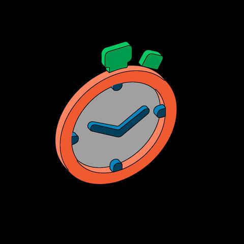 Stopwatch Lottie