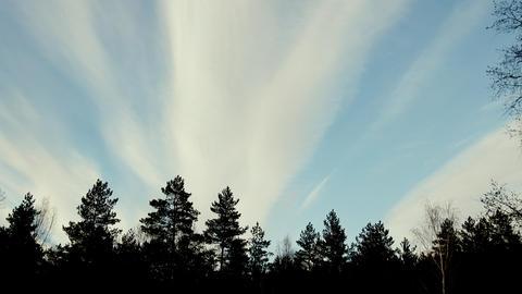 High-altitude clouds like cloud Footage