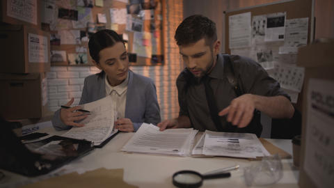 Two defense lawyers working overnight and finding answer in the secret files Live Action