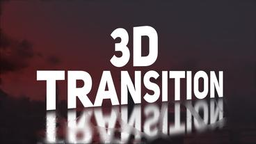 3D Transition Premiere Pro Template