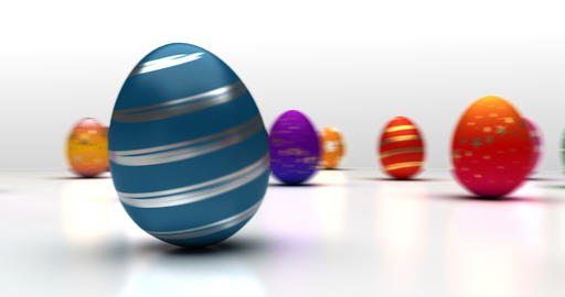 Dancing Easter Eggs Animation