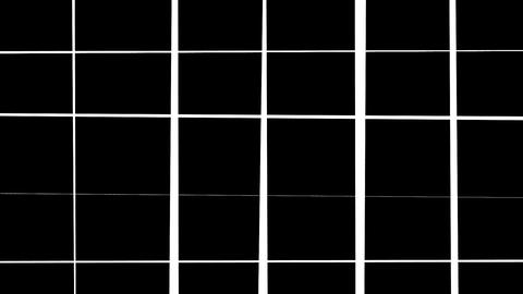 Abstract Grid Wireframe Background Loop CG動画
