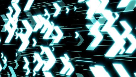E-Business Arrows Technology background Clip Animation
