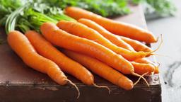 Fresh organic carrots, closeup Footage