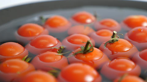 Free Rotation Of Tomatoes Stock Video Footage