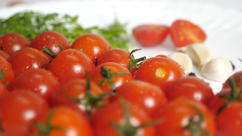 Studio Fresh Ripe Red Tomato Animation