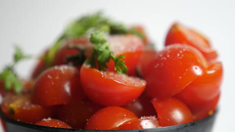 Sunlight Fresh Ripe Red Tomato Stock Video Footage