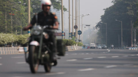 Road Journey in Kolkata Footage
