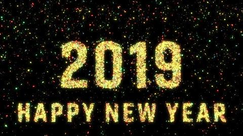 New Year 2019 animation 0099 Animation