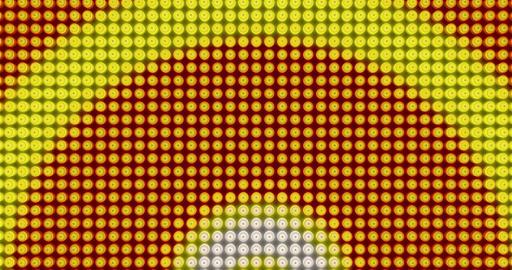 Disco light bulbs background Animation