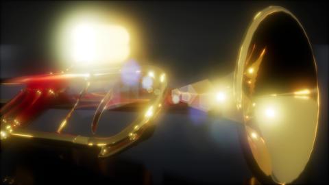 brass trumpet in the dark Live Action