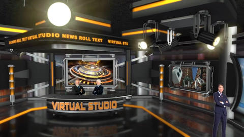 Virtual Studio After Effects Template
