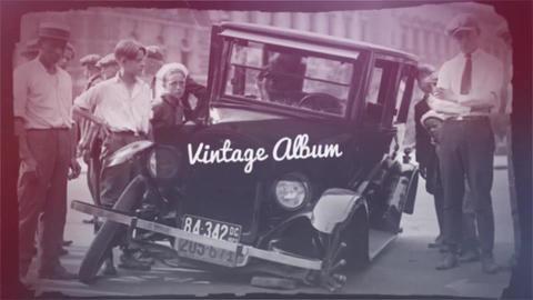 Vintage Album Premiere Pro Template