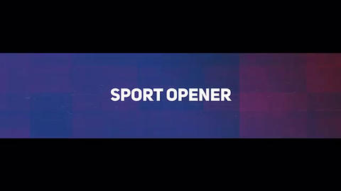 Sport Opener Plantilla de After Effects