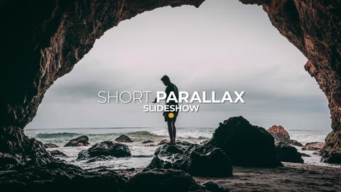 Short Parallax Slideshow After Effects Template