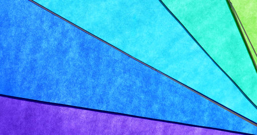 Rainbow Colored Umbrella Abstract Background Footage