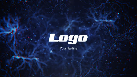 Veins Logo Reveal After Effects Template