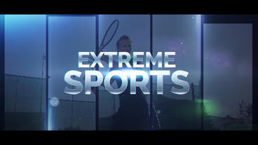 Extreme Sports After Effectsテンプレート