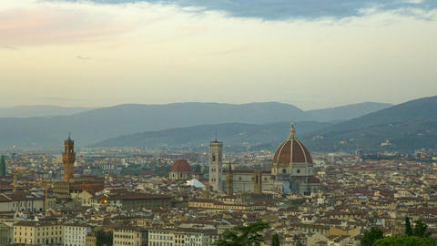 Time Lapse Of Florence City GIF