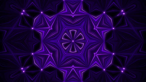 Purple Kaleidoscope Background VJ Loop Abstract Background Animation