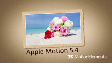 MTemplates l Partical Slide Apple Motion Template