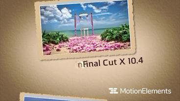 Wedding Slideshow Apple Motion Template