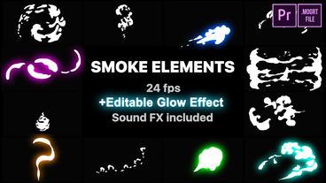 Hand Drawn Smoke Motion Graphics Template