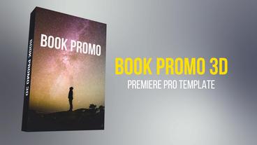 Book Promo 3D Premiere Pro Template