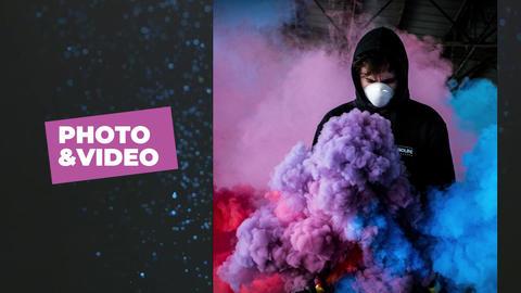 Modern Slide Show Premiere Pro Template