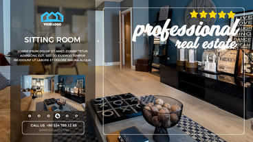PROFESSIONAL REAL ESTATE PROMO After Effects Template